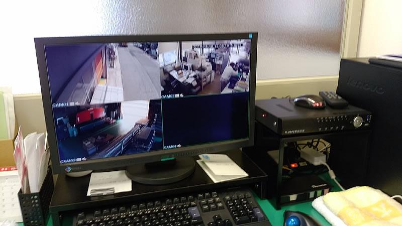監視カメラ制御PC